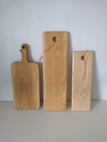 Oak and ash boards