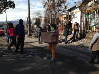 チリ、食糧支援完了のご報告