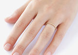 Thin Ring on Finger leading to divorce