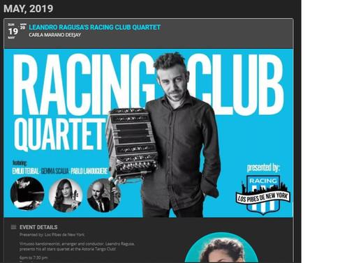 Racing Club Quartet at Astoria - NY - Ma