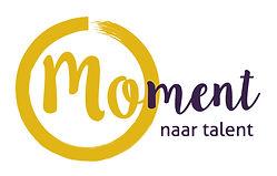 Moment naar talent logo