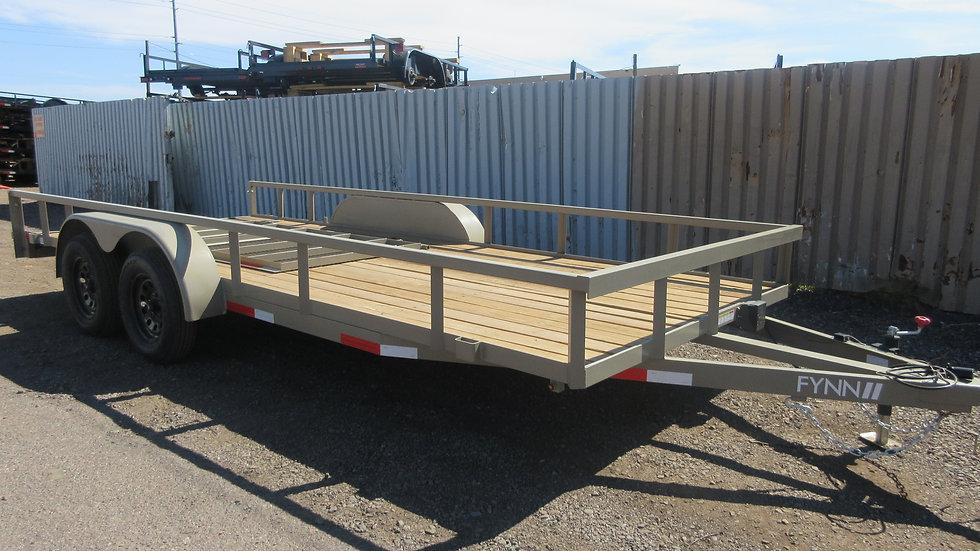 8.5x16 7 Sawyer & Fynn Tandem Axle Utility with Gate