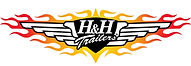 h and h trailers logo