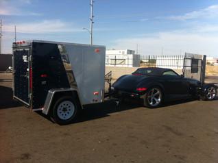 Look Trailers Custom 4x6 Pontiac Prowler