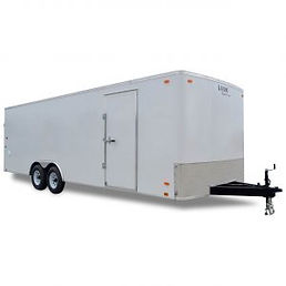 Enclosed Auto Hauler Trailer 8.5ft Wide