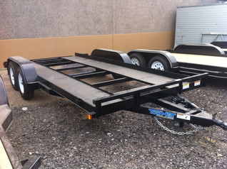 Top Hat Trailer Open Center Steel Car Ha