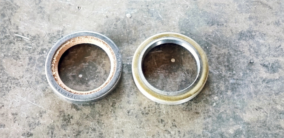 Deer Valley Trailer Leather Grease Seal