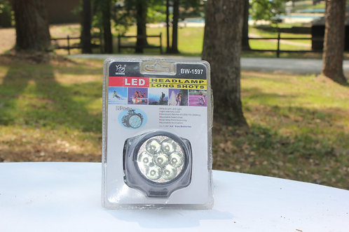 LED Longshot Headlamp w/ Batteries