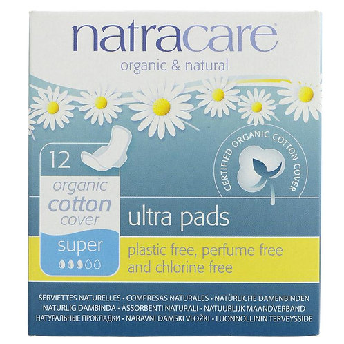 Natracare Super 12s Ultra Pads-wings