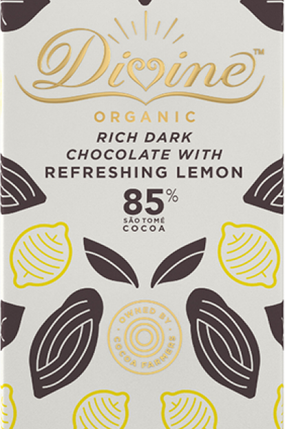 85% Dark Chocolate & Lemon