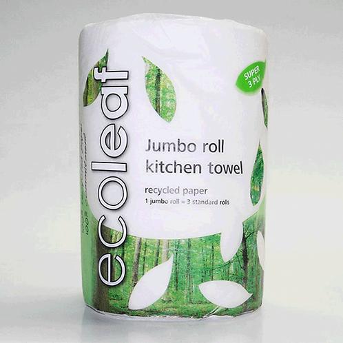 EcoLeaf Kitchen Roll (Jumbo Single)