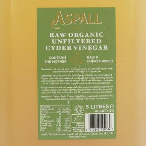Raw Unfiltered Cyder Vinegar (500g) Organic