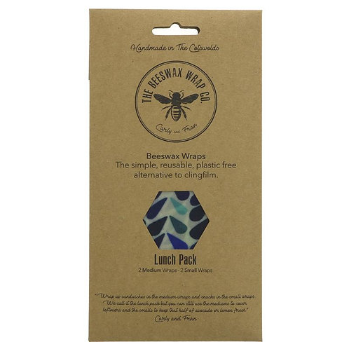 The Beeswax Wrap Company Beeswax Wraps - Lunch Pack