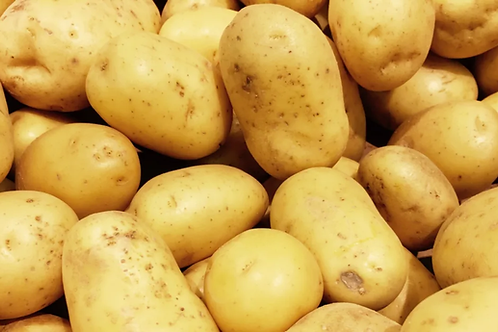 Potatoes - Bakers Washed (1kg) Organic