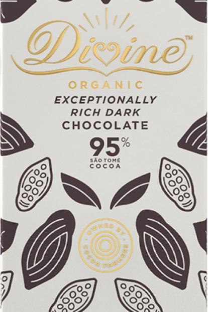 95% Dark Chocolate Bar