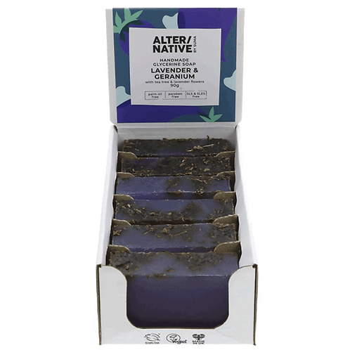 "Lavender & Geranium Soap ""Alter/Native"""