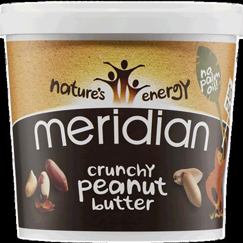 Crunchy Peanut Butter Meridian (1kg) Meridian Organic