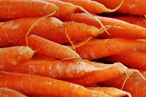 Carrots (500g) Washed Organic