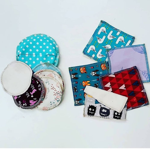 Reusable Cotton Make-Up Pads/Wipes