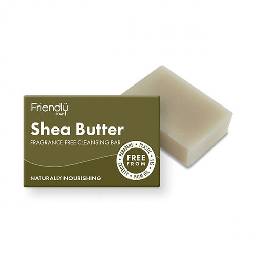 Shea Butter Facial Cleansing Bar Friendly