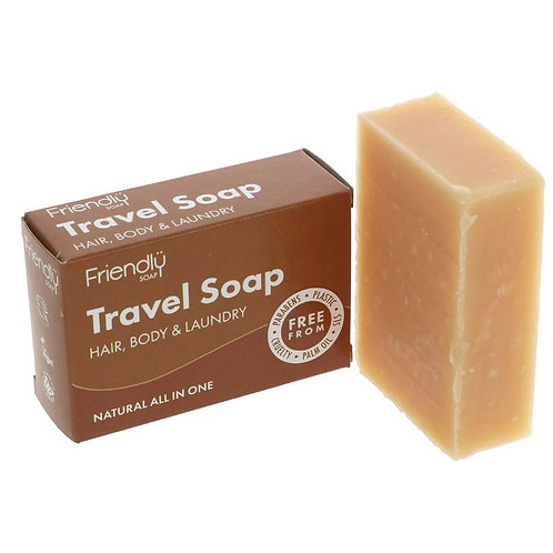 "Travel Soap: Hair, Body, Laundry ""Friendly"""