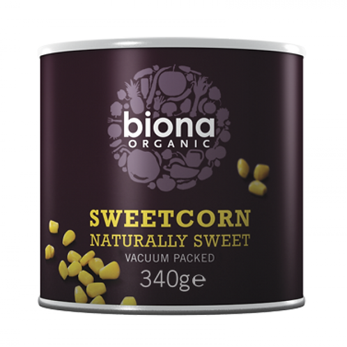 Tinned Sweetcorn Organic