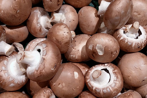 Mushrooms Brown (250g) Organic
