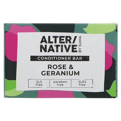 """Rose & Geranium Conditioner Bar """"Alter/Native"""""""