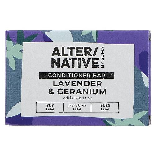 """Lavender & Geranium Conditioner Bar """"Alter/Native"""""""