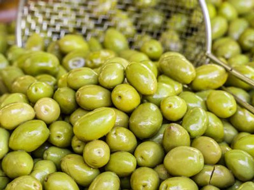 Konservolea Green Olives Pitted Organic (250g)