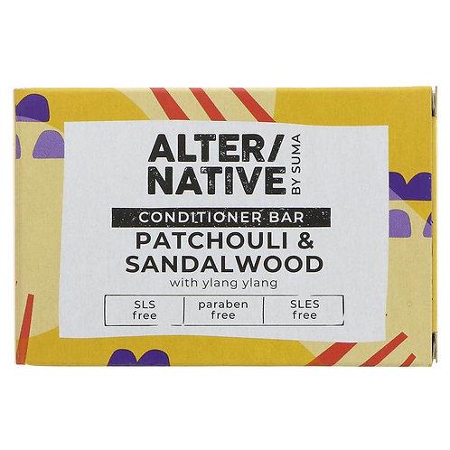 "Patchouli & Sandalwood Conditioner Bar ""Alter/Native"""