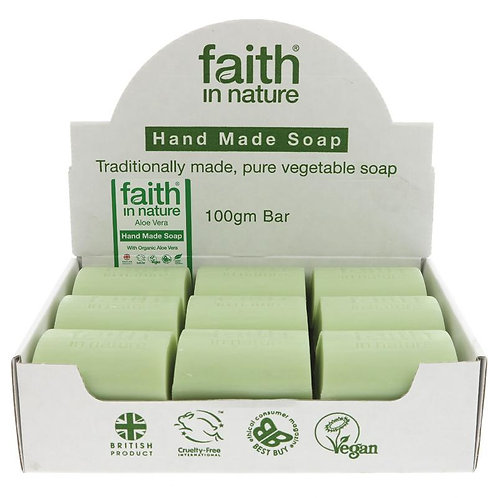 "Aloe Vera Soap Bar ""Faith In Nature"""