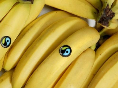 """Bananas (650g) """"x5"""" Organic Fairtrade"""