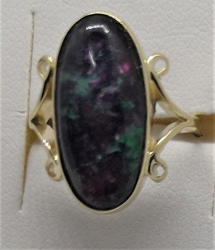 Ruby Rock Ring set in 9 Carat Gold