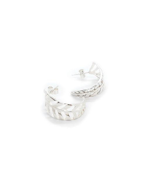 Curved Fern earrings
