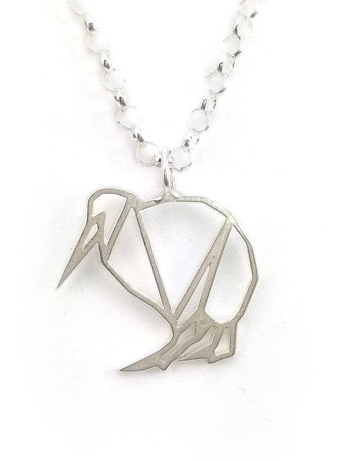 Kiwi Pendant | Silver