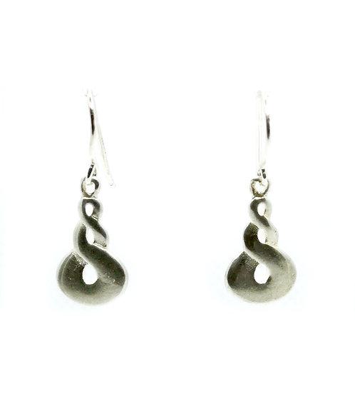 Sterling Silver Twist Earring