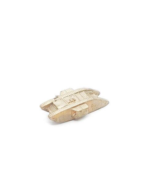 Brass MkI Tank Miniature