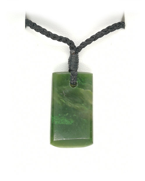 Hand Craved Greenstone Toki
