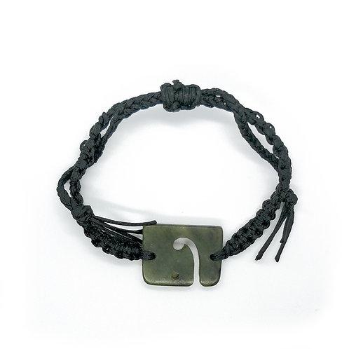 Koru Greenstone Bracelet