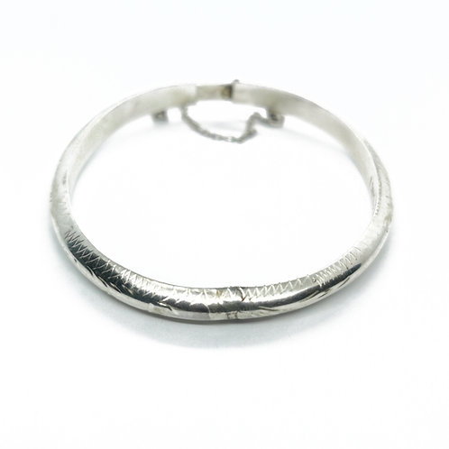 Sterling Silver Bangle for Child