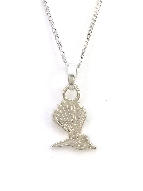 Fantail Pendant | Sterling Silver