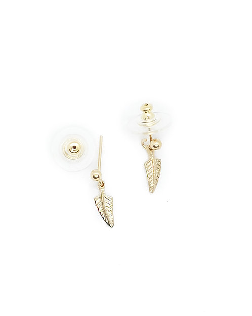 Mini Fern Drop Earring