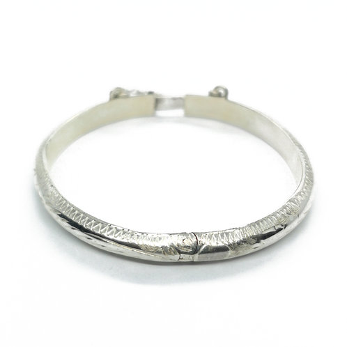 Sterling Silver Bangle for Baby
