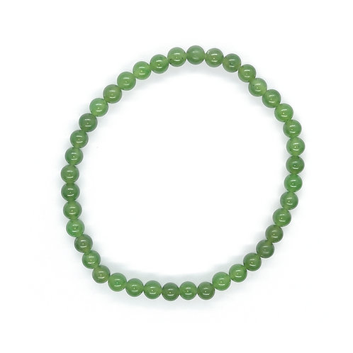 3mm Greenstone Beads Bracelet