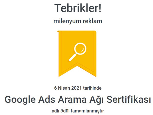 Google Ads Sertifika Nedir Nasıl alınır?