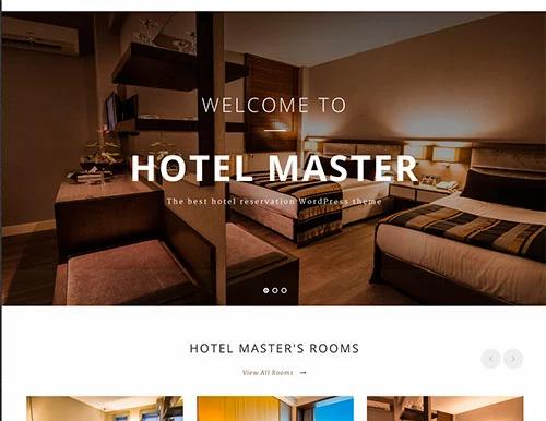Premium Otel Web Sitesi Tasarımı