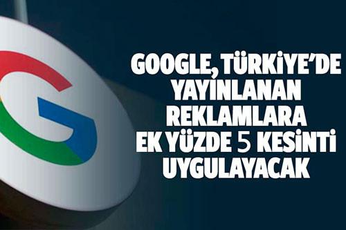 Türkiye Yasal İşletme Maliyetleri adı altında % 5 kesinti nedir?