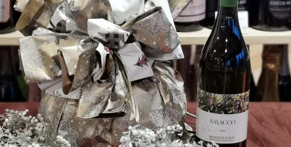 Confezione regalo: Moscato Vignaioli + Panettone