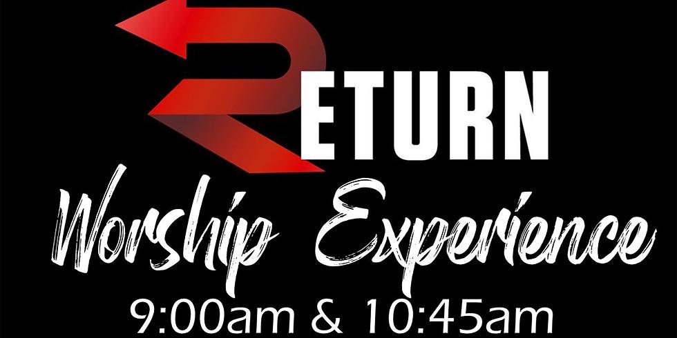 Return to Indoor Services - 9am & 10:45am